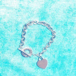Tiffany & Co Toggle Heart Bracelet